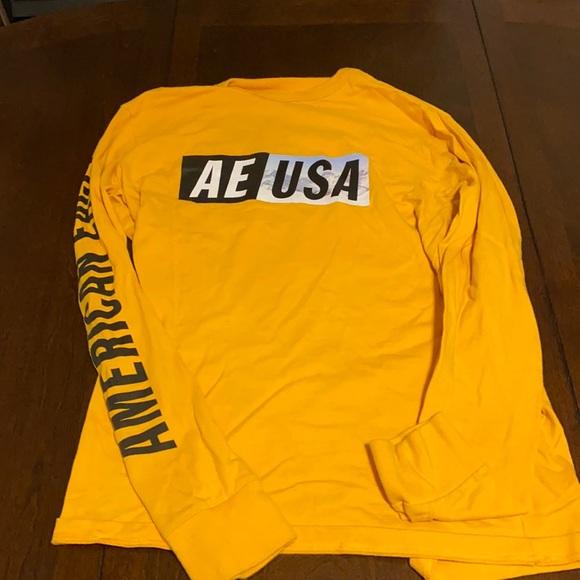 American Eagle Long Sleeve T-Shirt NO FLAWS